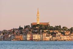Rovinj - alte Stadt, adriatisches Meer, Kroatien Stockbild