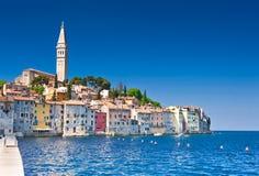 Rovinj alte Stadt in Kroatien Lizenzfreie Stockfotos