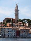 Rovinj alte Stadt in Kroatien Stockfotografie