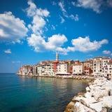 Rovinj alte Stadt in Kroatien Lizenzfreie Stockbilder