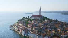 Rovinj Antenne stock video