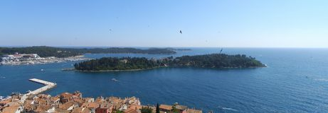 Rovinj archipelago, Croatia Royalty Free Stock Photos