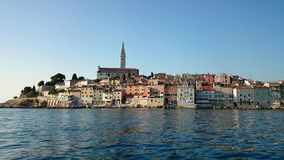 Rovinj. Beautiful city in Istria, Croatia Royalty Free Stock Photos