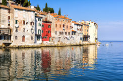 Rovinj, beautiful old town in Istria of Croatia, Europe Stock Photos