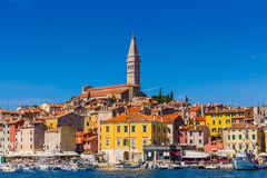 Rovinj, beautiful old town in Istria of Croatia, Europe Royalty Free Stock Photo