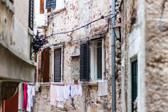 Rovinj, beautiful old town in Istria of Croatia, Europe Royalty Free Stock Photography