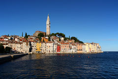 Rovinj (Croatia). View on the city Rovinj in Croatia Stock Image