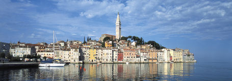 Rovinj, Croatia. Historic town, Rovinj, Istria, Croatia stock photography