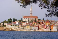 Rovinj - Croatia stock photo