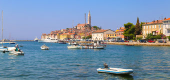 Rovinj Croatia. Beautiful small city Rovinj, Croatia, Europe Royalty Free Stock Photos