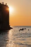 Rovinj, Croatia, at sunset Stock Images