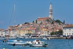 Rovinj - A Croatian fishing port on the West Coast. royalty free stock photography