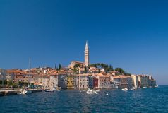 rovinj de la Croatie de ville Photos libres de droits
