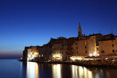 Rovinj at dusk, Croatia Stock Image