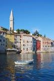 Rovinj en Croatia Imagen de archivo