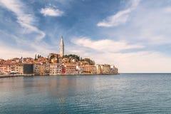 Rovinj en el mar adriático en Croacia, Europa Imagenes de archivo