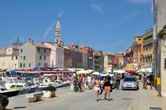 Rovinj hamn, Kroatien Royaltyfri Foto