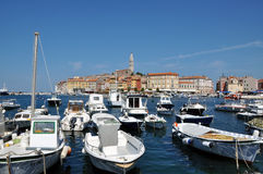 Rovinj harbour, Croatia Royalty Free Stock Photos