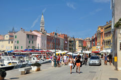 Rovinj harbour, Croatia Royalty Free Stock Photo