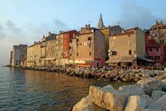 Rovinj harbour Stock Photo