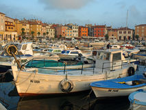 Rovinj harbour Royalty Free Stock Photo