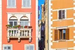 Rovinj, Istria, Хорватия Стоковые Изображения