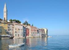 Rovinj, Istria, adriatisches Meer, Kroatien Stockbilder