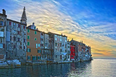Rovinj in Istria Royalty Free Stock Photos