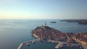 Rovinj, Istria, Croácia video estoque