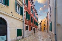 Rovinj. Istria. Croatia. Generic architecture of Rovinj (Rovigno). Istria. Croatia royalty free stock photo