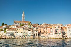 Rovinj, Istria, Croatia. Royalty Free Stock Photo