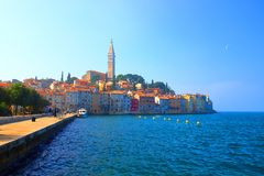 Rovinj in Istria, Croatia. Rovinj, touristic destination in Istria, Croatia royalty free stock photos