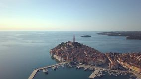 Rovinj, Istria, Kroatië stock video