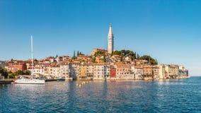 Rovinj, Istria, Kroatië Stock Foto's