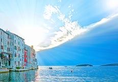 Rovinj, Istria, Kroatien stockfoto