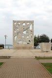 Rovinj-Kriegs-Monument Lizenzfreie Stockfotografie