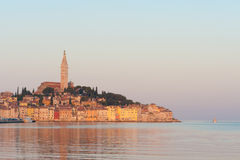 Rovinj old town, Adriatic coast royalty free stock photography