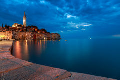 Rovinj old town in Adriatic  sea Stock Photo