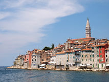 Rovinj old town in Croatia. Adriatic coast, Istra region Stock Images