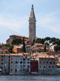 Rovinj old town in Croatia. Adriatic coast, Istra region Stock Photography