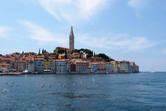 Rovinj old town in Croatia Stock Photos