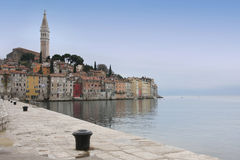 Rovinj old town, Istria, Croatia Royalty Free Stock Images