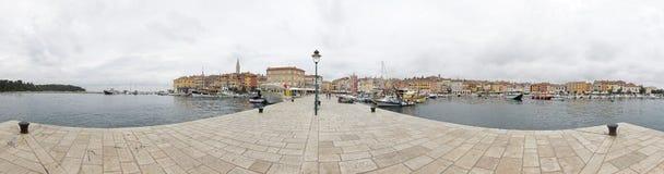 Rovinj panorama Royaltyfri Foto