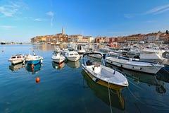 Rovinj pejzaż miejski, Chorwacja obrazy stock
