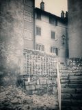 Rovinj- picture in retro style Royalty Free Stock Image