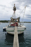 Rovinj, Rovigno, старый корабль на Марине Стоковые Изображения RF