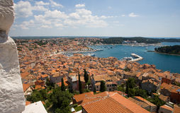 Rovinj's ancient town Royalty Free Stock Images