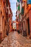 Rovinj's medieval old town, Croatia Stock Image