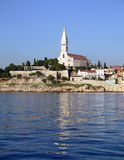 Rovinj from the sea. Stock Photo