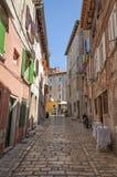 Rovinj street, Croatia Royalty Free Stock Image